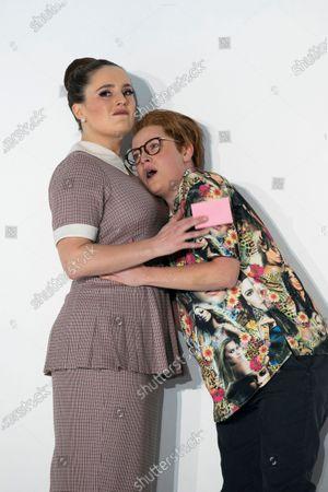 Stock Image of Louise Alder as Susanna, Hanna Hipp as Cherubino