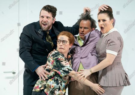 Editorial image of 'The Marriage of Figaro' Opera performed by English National Opera at the London Coliseum, UK - 12 Mar 2020