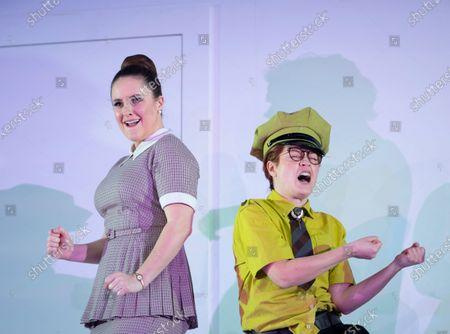 Stock Photo of Louise Alder as Susanna, Hanna Hipp as Cherubino