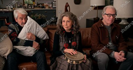 Sam Waterston as Sol Bergstein, Lily Tomlin as Frankie Bergstein and Michael McKean as Jack
