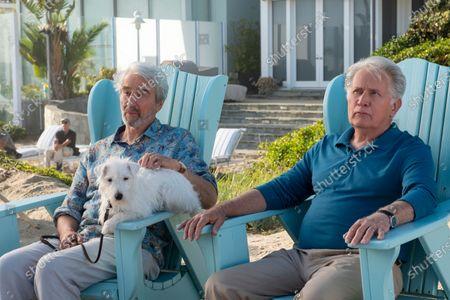 Sam Waterston as Sol Bergstein and Martin Sheen as Robert Hanson