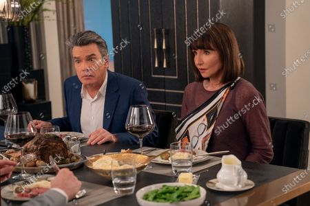 Peter Gallagher as Nick and Mary Steenburgen as Miriam