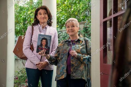 Amy Aquino as Dana Marino and Millicent Martin as Joan-Margaret