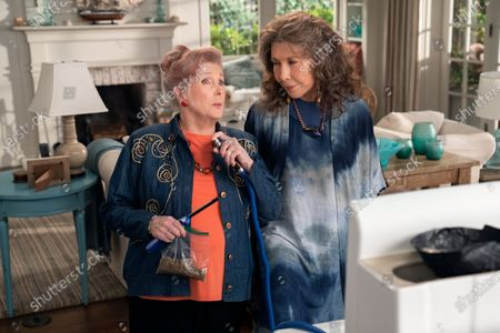 Millicent Martin as Joan-Margaret and Lily Tomlin as Frankie Bergstein