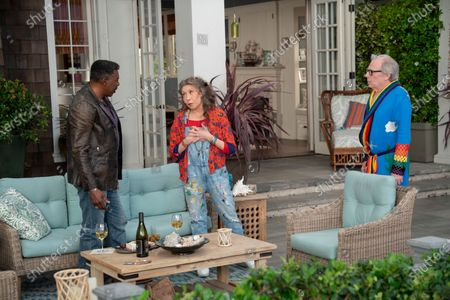 Ernie Hudson as Jacob, Lily Tomlin as Frankie Bergstein and Michael McKean as Jack
