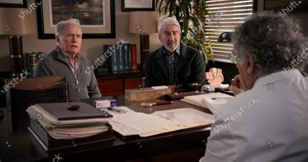Stock Picture of Martin Sheen as Robert Hanson and Sam Waterston as Sol Bergstein
