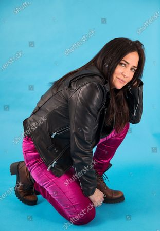 "Actress Pamela Adlon poses for a portrait in New York to promote her series ""Better Things"