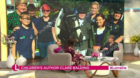 Lorraine Kelly and Clare Balding
