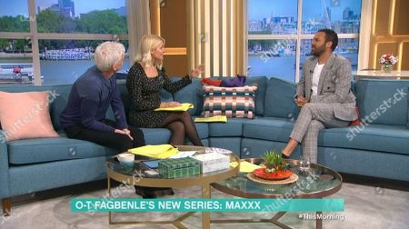 Editorial image of 'This Morning' TV show, London, UK - 19 Mar 2020