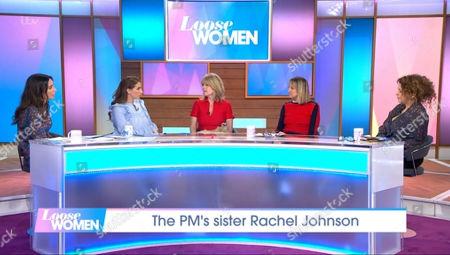 Christine Lampard, Stacey Solomon, Rachel Johnson, Carol McGiffin and Nadia Sawalha