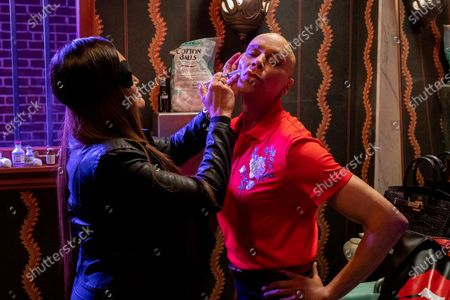 Tia Carrere as Lady Danger and RuPaul as Robert Lee/Ruby Red