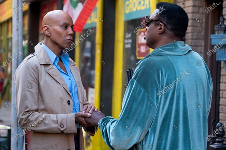 Stock Picture of RuPaul as Robert Lee/Ruby Red and Michael-Leon Wooley as Louis Bell
