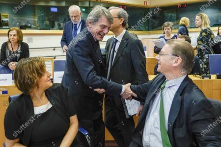 Editorial photo of Conference of Presidents of the European Parliament, Brussels, Belgium - 05 Mar 2020