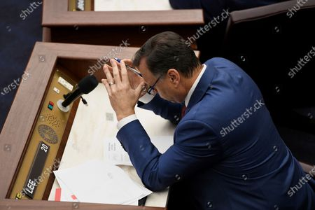 Stock Photo of State Sen. Tom Lee, R-Brandon, during session on in Tallahassee, Fla