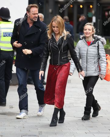 Stock Picture of Jamie Theakston and Amanda Holden at Global House