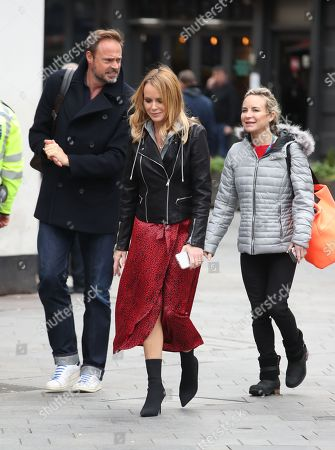 Editorial image of Amanda Holden out and about, London, UK - 20 Mar 2020