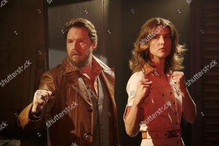 Donal Logue as Artie Banks P.I. and Cobie Smulders as Dex Parios