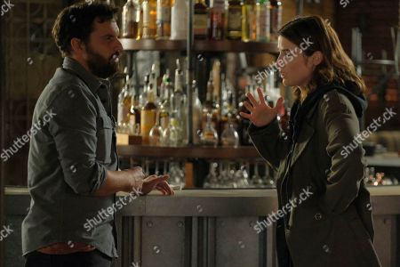 Jake Johnson as Grey McConnell and Cobie Smulders as Dex Parios