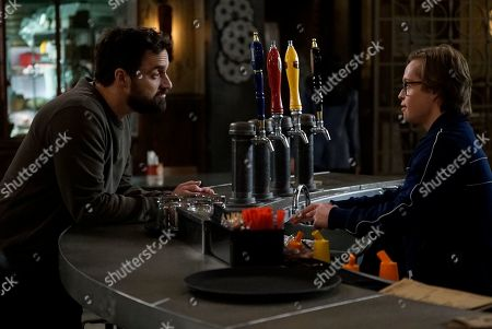 Jake Johnson as Grey McConnell and Cole Sibus as Ansel Parios