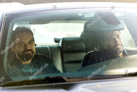 Jake Johnson as Grey McConnell and Michael Ealy as Detective Miles Hoffman
