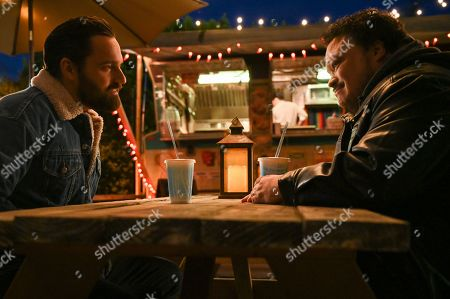 Jake Johnson as Grey McConnell and Adrian Martinez as Tookie