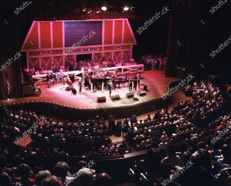 Editorial image of Music-Grand Ole Opry, Nashville, United States - 20 Mar 2020