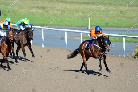 DUNDALK. TONY THE GENT and Joey Sheridan win for trainer Denis Hogan.