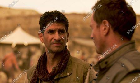 Raza Jaffrey as Victor Dhar and Toby Stephens as John Robinson