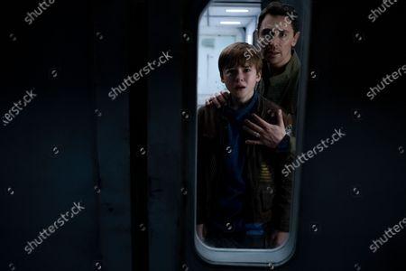 Maxwell Jenkins as Will Robinson and JJ Feild as Ben Adler