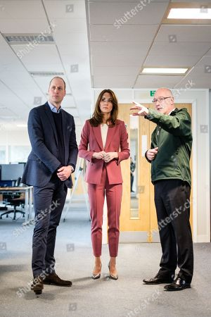 Editorial image of British Royals visit a Ambulance Service 111 control room, London, UK - 19 Mar 2020
