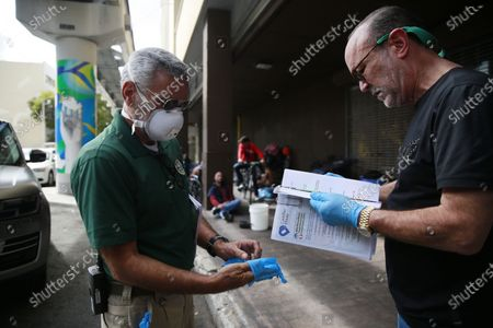 Editorial image of Virus Outbreak Floirida, Miami, United States - 20 Mar 2020