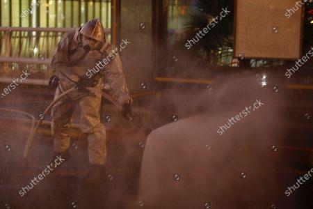 Editorial picture of Virus Outbreak , Rishon Letsiyon, Israel - 22 Mar 2020