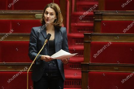 Editorial photo of French Parliament on emergency law for coronavirus pandemic, Paris, France - 22 Mar 2020