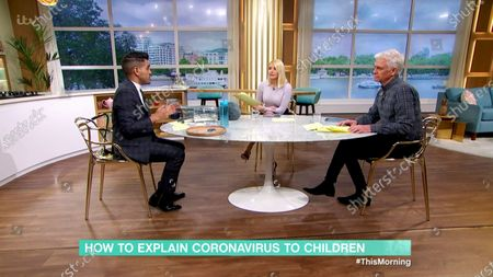 Holly Willoughby and Phillip Schofield and Dr Ranj