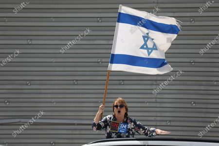 Editorial image of Protest outside Knesset parliament, Jerusalem - 23 Mar 2020