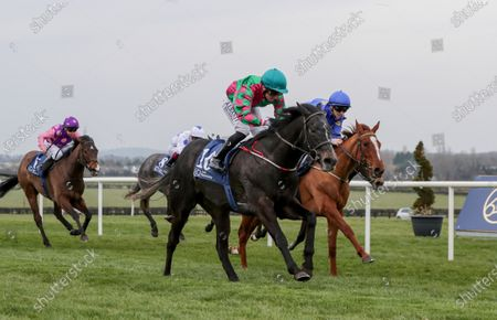 The Naas Racecourse Business Club Madrid Handicap. Chris Hayes on In From the Cold wins the race