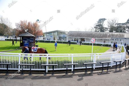 NAAS. Racing is held behind closed doors at the Kildare venue to the general public because of Covid 19 Coronavirus.