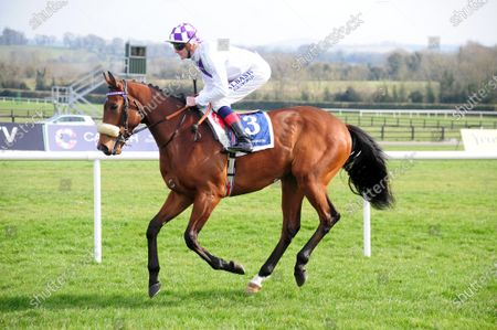 NAAS. POETIC FLARE and Kevin Manning head to post ahead of win for trainer Jim Bolger.