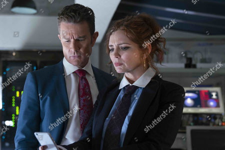 James Marsters as Victor Stein and Brigid Brannagh as Stacey Yorkes