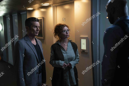 Stock Picture of James Marsters Victor Stein and Brigid Brannagh as Stacey Yorkes