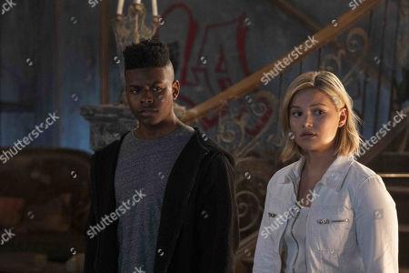 Aubrey Joseph as Tyrone Johnson/Cloak and Olivia Holt as Tandy Bowen/Dagger