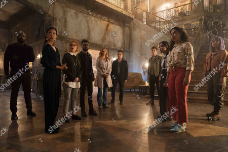 Ryan Sands as Geoffrey Wilder, Brittany Ishibashi as Tina Minoru, Brigid Brannagh as Stacey Yorkes, Kevin Weisman as Dale Yorkes, Annie Wersching as Leslie Dean, James Marsters as Victor Stein, Gregg Sulkin as Chase Stern, Lyrica Okano as Nico Minoru, Allegra Acosta as Molly Hernandez and Ariela Barer as Gert Yorkes