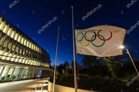 Editorial photo of Media reports that IOC already decided to postpone the Olympic Games in Tokyo, Lausanne, Switzerland - 23 Mar 2020