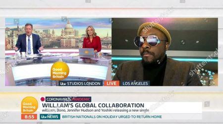 Editorial image of 'Good Morning Britain' TV show, London, UK - 24 Mar 2020