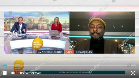 Editorial picture of 'Good Morning Britain' TV show, London, UK - 24 Mar 2020