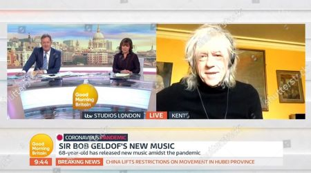 Editorial photo of 'Good Morning Britain' TV show, London, UK - 24 Mar 2020