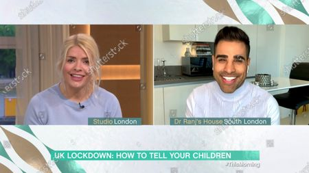 Holly Willoughby and Dr Ranj
