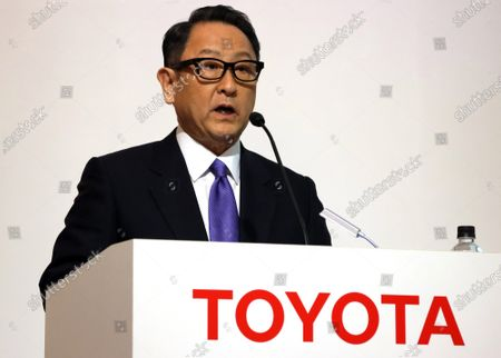 Editorial image of Toyota Motor and NTT Group form a business and capital alliance, Tokyo, Japan - 24 Mar 2020