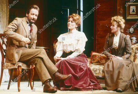 Ronald Pickup ; Diana Rigg and Cheryl Campbell