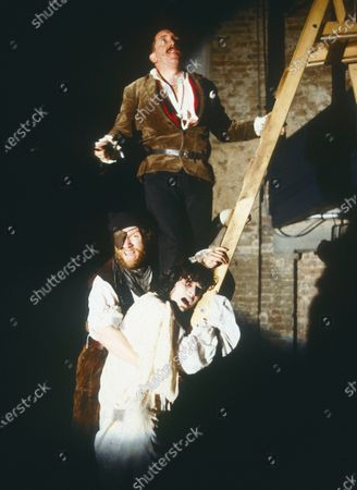 Editorial picture of 'King Lear' play, Almeida Theatre, London, UK - 1980's